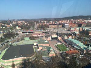 Utsikt från Lisebergshjulet